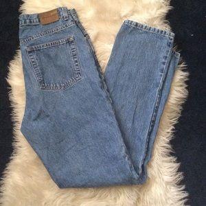 Vintage Calvin Klein high waisted mom jeans / 90s